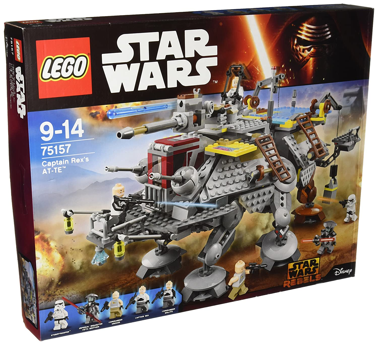 Lego 75157 Star Wars Captain Rexs At Te Lego Amazon Toys