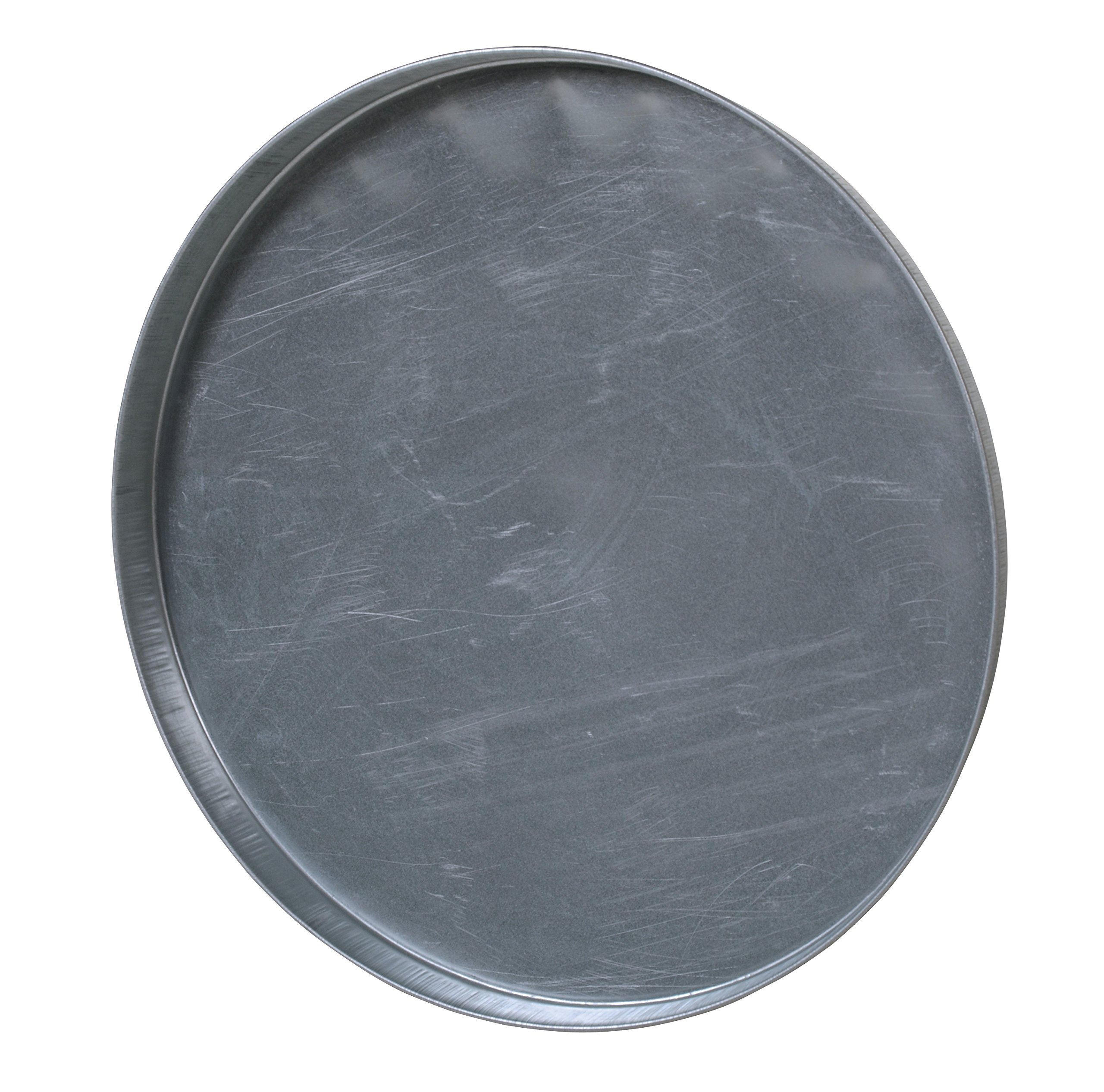 Vestil DC-235 Closed Head Galvanized Steel Drum Cover for use with 55 gallon Drum, 24-1/2'' ID