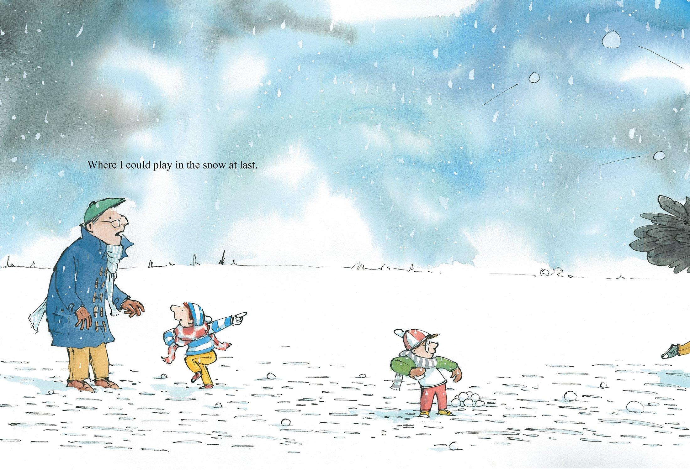 Snow (Seasons with Granddad) by Templar (Image #3)