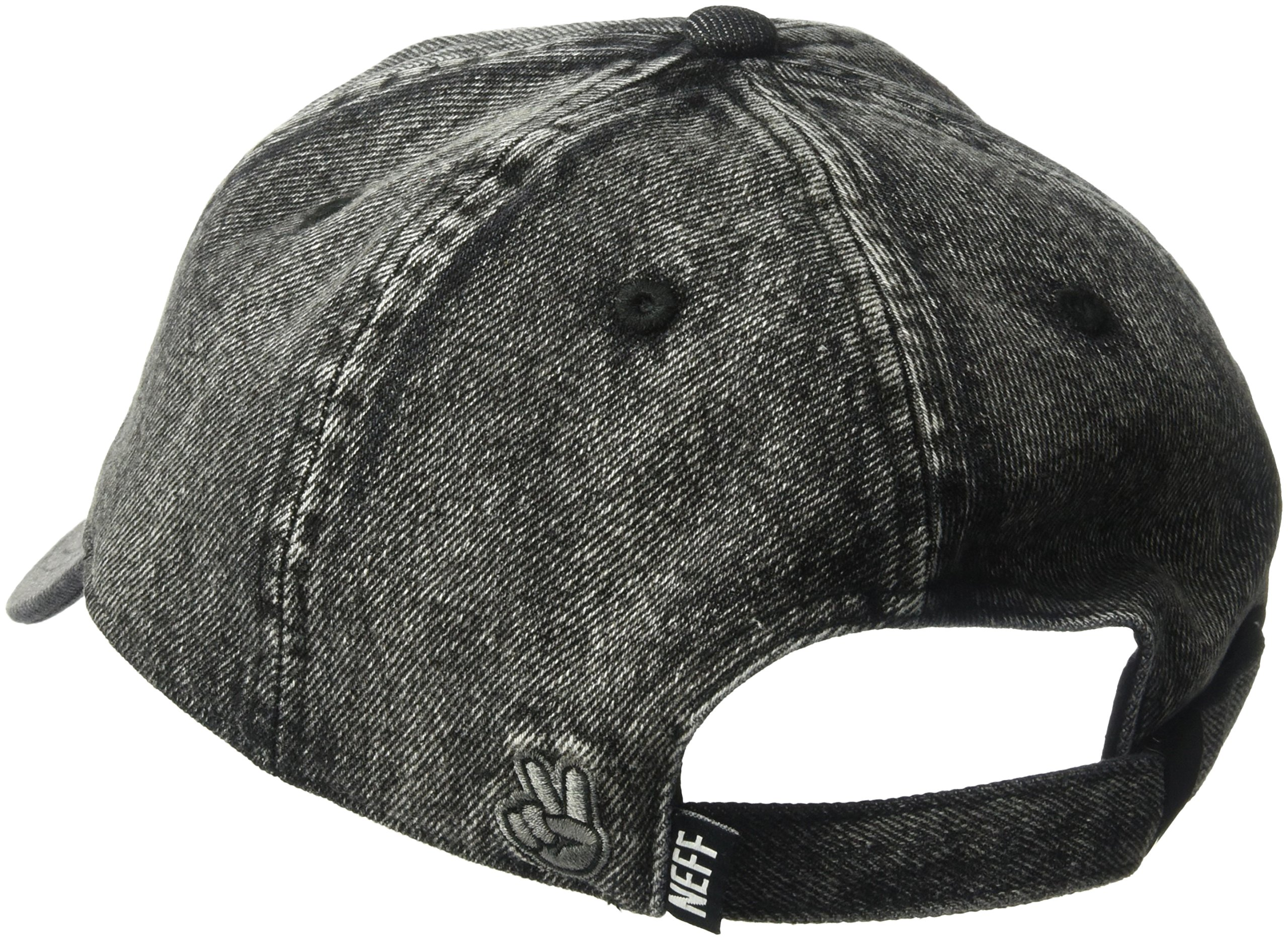 NEFF Unisex-Adults Step Dad Cap, Black, One Size by NEFF (Image #2)