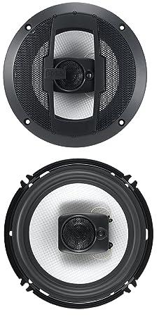 BOSS Audio R63 300 Watt (Per Pair), 6.5 Inch, Full Range, 3 Way Car Speakers (Sold in Pairs) Car Coaxial Speakers at amazon