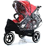 Baby Travel Raincover To Fit Phil and Teds Navigator Double