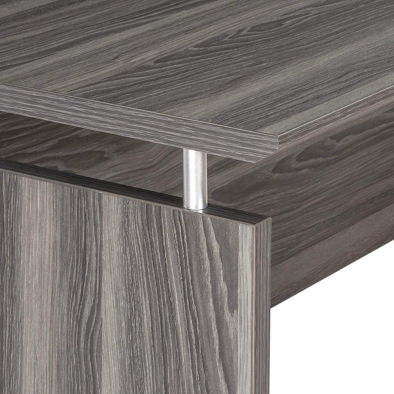 Safco Medina Executive Credenza Desk 72 Gray Steel Furniture Decor