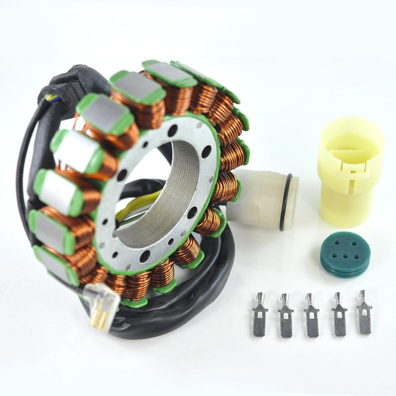Generator Stator For Honda TRX 400 450 Fourtrax Foreman 1995-2004 OEM Repl.# 31120-HM7-004 31120-HM7-014 31120-HM7-700 31120-HN0-671 TRX400FW TRX450S TRX450ES TRX450FE TRX450FM 4x4 RaceTech Electric