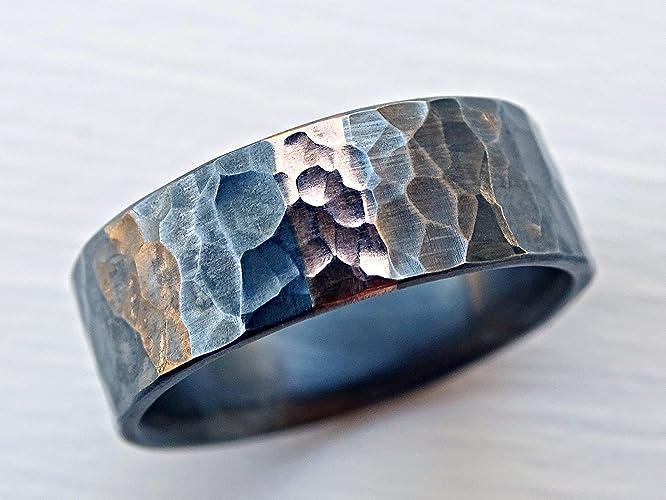 Cool Wedding Rings.Amazon Com Mens Wedding Ring Rose Gold Celtic Wedding Band