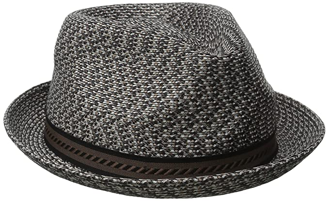 Bailey of Hollywood Men s Mannes Braided Fedora Trilby Hat at Amazon ... f8654f216408