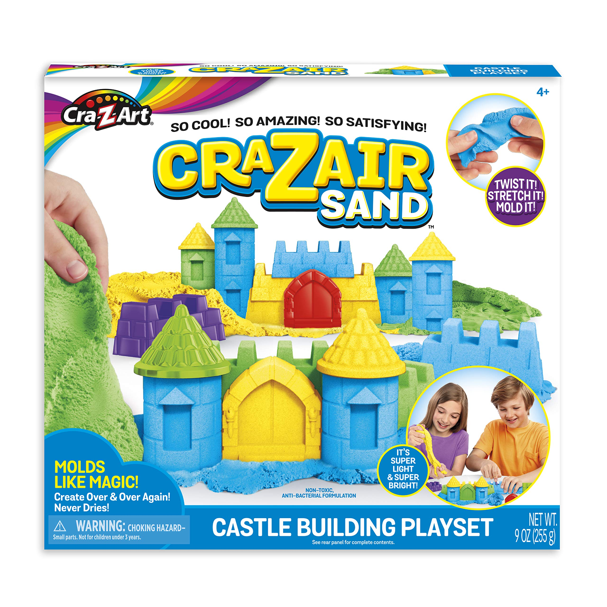 Cra-Z-Sand 19598 Castle Building PLAYSET-Styles May Vary, Multi Colour