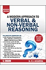 A Modern Approach to Verbal & Non-Verbal Reasoning by R.S. Aggarwal (2019-20 Session) Paperback