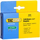 Tacwise Heavy Duty 140 Type 8mm Staples for Staple Gun (2000)