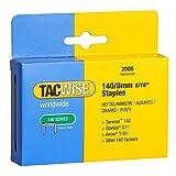 Tacwise Heavy Duty 140 Type 8mm Staples for Staple Gun (2000)