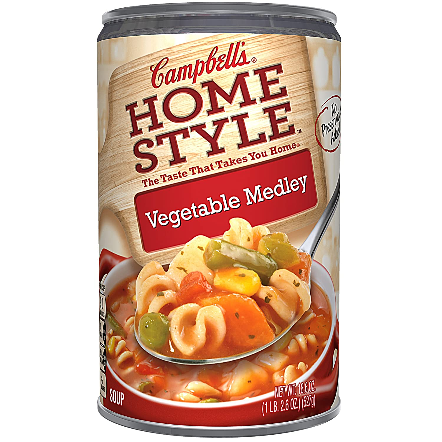 Amazon.com : Campbells Homestyle Soup, Vegetable Medley ...
