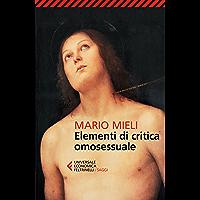 Elementi di critica omosessuale (Italian Edition) book cover