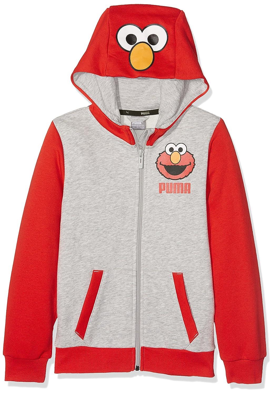 Puma Children's Sesame Street Sweat Jacket high Risk red 128 PUMAE|#PUMA 590711