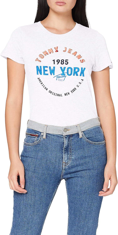 Tommy Hilfiger Tjw Circle New York tee Camisa para Mujer ...