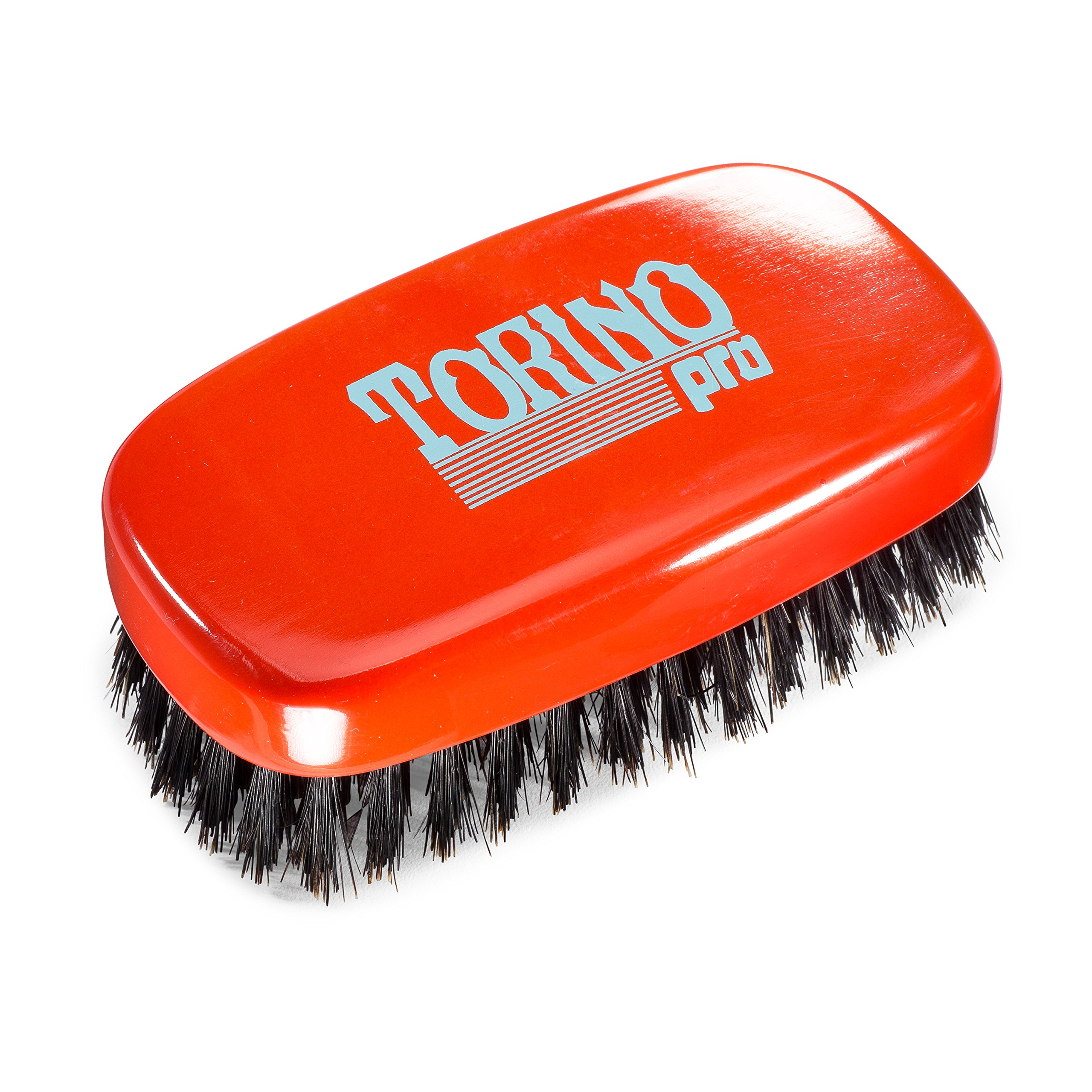 Torino Pro Wave Brush #760 By Brush King - 11 Row Medium 360 Waves Palm Brush