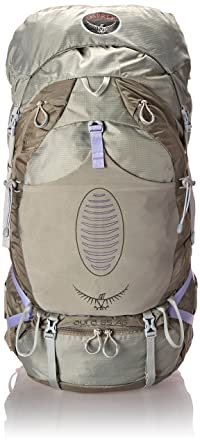 e1c0d70fea Osprey Aura Ag 65 Womens Hiking Rucksack - Silver  Harness Size ...
