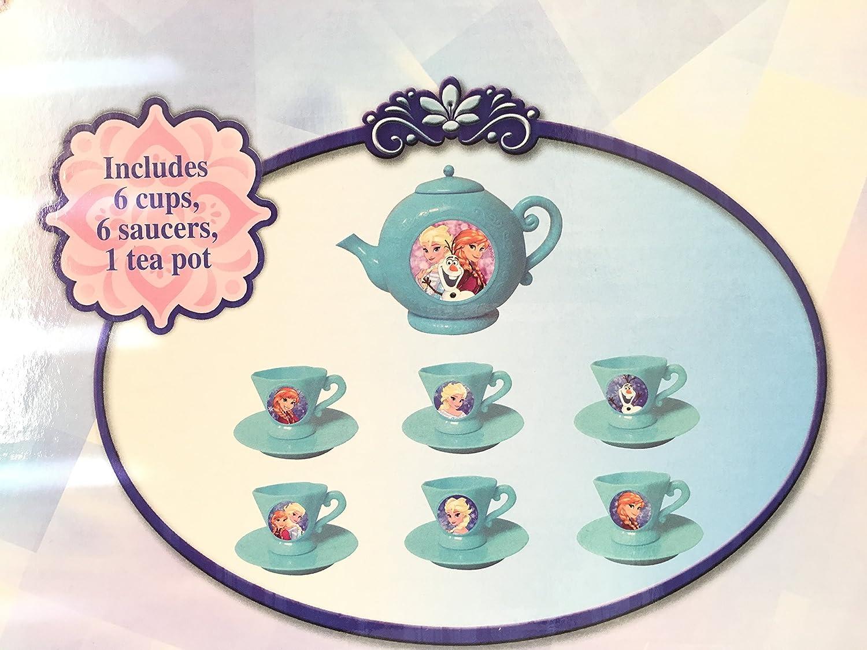 Disney Frozen Elsa /& Anna Mini 13 Pcs Tea Set