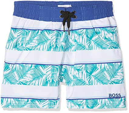 83f29cf81c1cc Image Unavailable. Image not available for. Colour: BOSS Baby Boys' J04300 Swim  Trunks ...