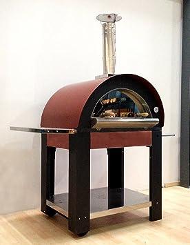 MICHELA, horno para pizza de leña, cocina a altas temperaturas 80 x 60 cm