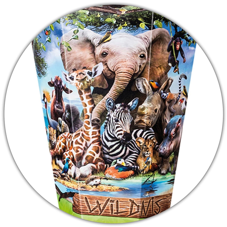 Alles-meine  GmbH 10 Stück _ Schultüten -    Zootiere   Wildtiere - Zoo Tiere  - 35 cm - rund - incl. Name und individueller Schleife - mit Tüllabschluß - Zuckertüte - mit   oh.. B07D2LT5VJ | Rabatt  | Produktqualität  | Gutes De f36196