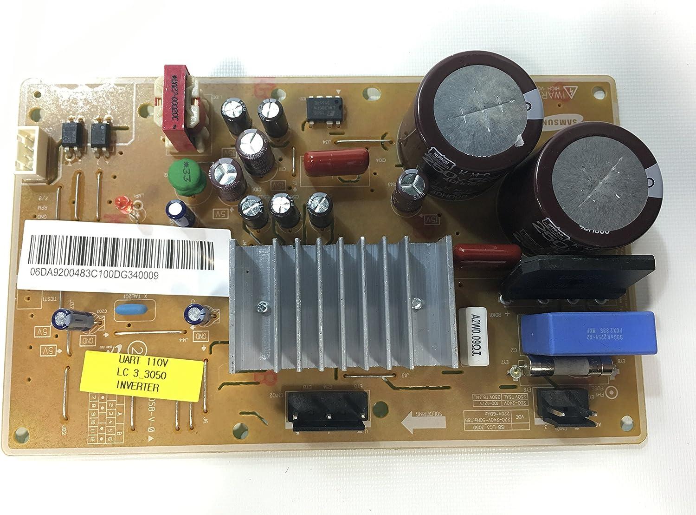 Samsung DA92-00483C Refrigerator Inverter Genuine Original Equipment Manufacturer (OEM) Part