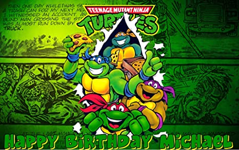 Amazon.com: Teenage Mutant Ninja Turtles Comestible Frosting ...