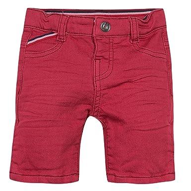 f8b0b994e4b44 3POMMES Bermuda slim fit en molleton garçon - Rouge (Rouge (Rouge)) -