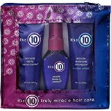 It's a 10 Haircare Miracle Daily Travel Set- Shampoo, Conditioner, and Leave-In Product, 2 fl. oz. ea.