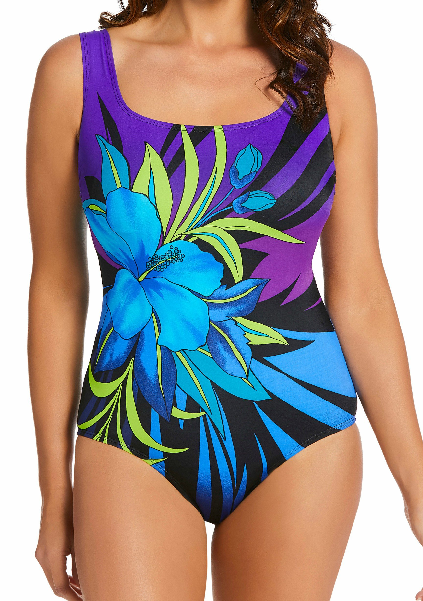 LONGITUDE Pinata One-Piece Swimsuit Style l180800 by Longitude