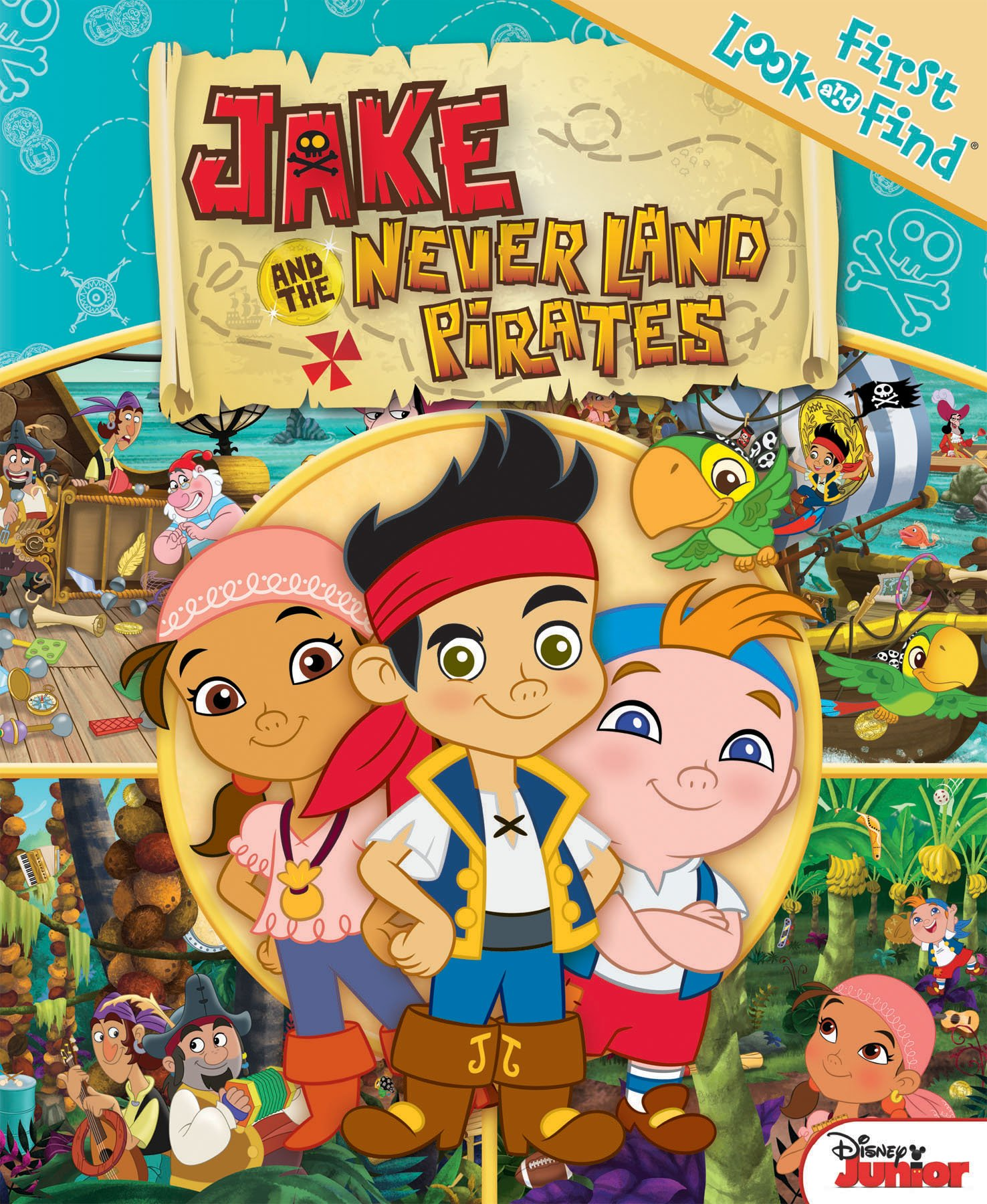 My First Look Find Jake And The Neverland Pirates First Look And Find Editors Of Publications International 9781450843942 Amazon Com Books