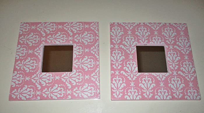 Small Wall Mirrors, Nursery Room, Childrens Room, Pink And White, Shabby  Chic