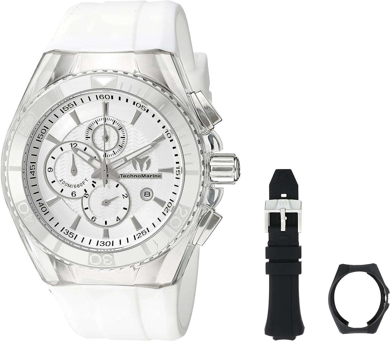 Technomarine Men s TM-115043 Cruise Original Analog Display Quartz White Watch