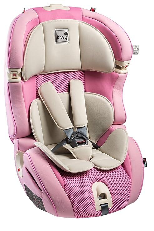Kiwy SL123, Silla de coche grupo 1/2/3, rosa (Candy