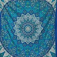 momomus Tapiz Mandala Estrella - 100% Algodón, Grande, Multiuso - Pareo/Toalla de Playa Gigante - Manta de Picnic Ligera…