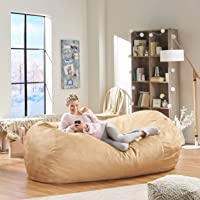 Overstock.com deals on Christopher Knight Home Larson 8-ft Lounge Beanbag Chair