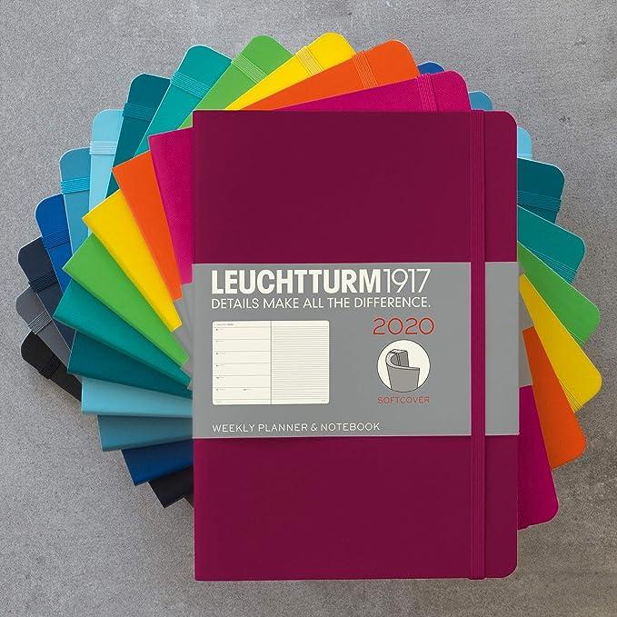 Agenda y cuaderno 2020, tapa blanda, tamaño A5, 12 meses ...