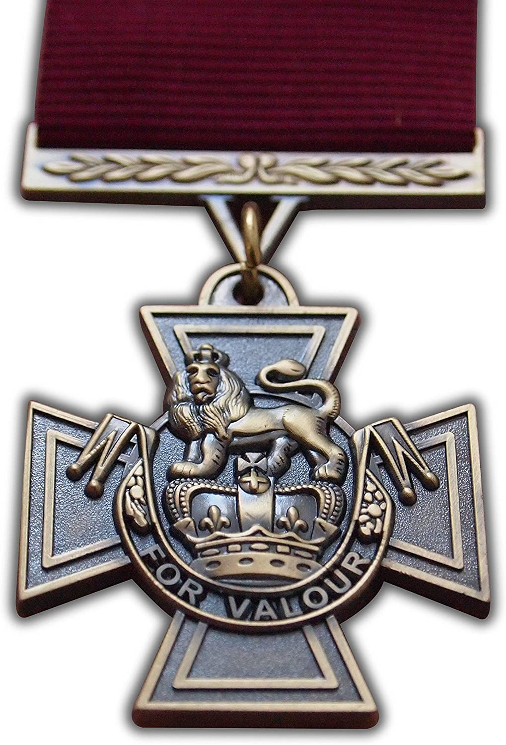 Victoria Cross Full Size Reproduction Medal For Valour