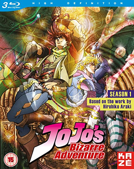 Jojo S Bizarre Adventure Season 1 (Episodes 1 26) [Blu Ray] by Amazon