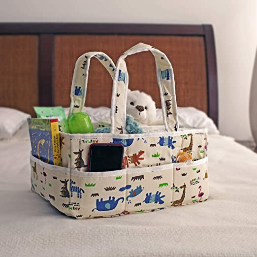 Amazon.com: ShiShu Creations Baby Diaper Caddy Organizer ...