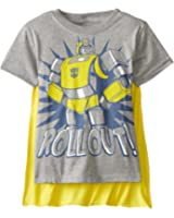Transformers Boys' Bumblebee Roll Out T-Shirt with Cape
