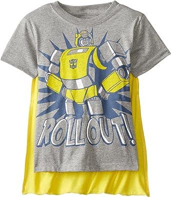 Kids Toddler Transformers Little Boys Girls T-Shirt Black Size 4 Toddler