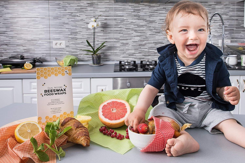 Amazoncom Beeswax Wrap Zero Waste Food Wraps Reusable Eco