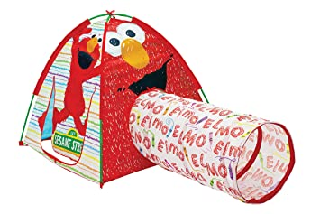 Sesame Street Elmou0027s Playtent  sc 1 st  Amazon.com : elmo play tent and tunnel - memphite.com