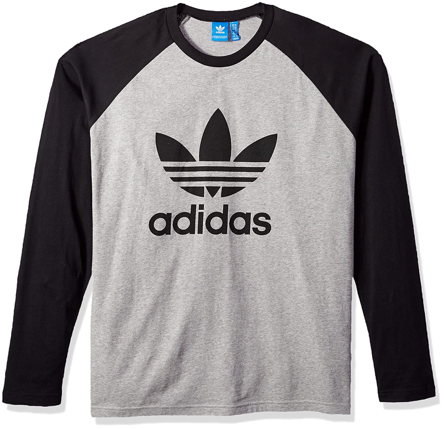 competitive price 64c6d 0c6de adidas Originals Men s Long Sleeve Trefoil Tee at Amazon Men s Clothing  store