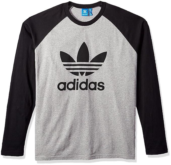 hot sale new photos brand new adidas Originals Men's Long Sleeve Trefoil Tee