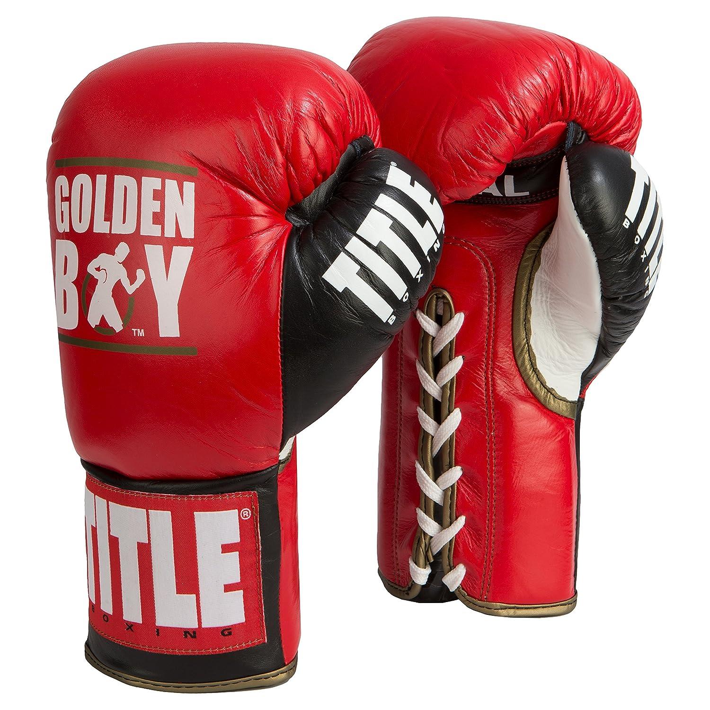 Golden Boy Pro Fight Gloves B078JX77RH レッド/ブラック 8 oz