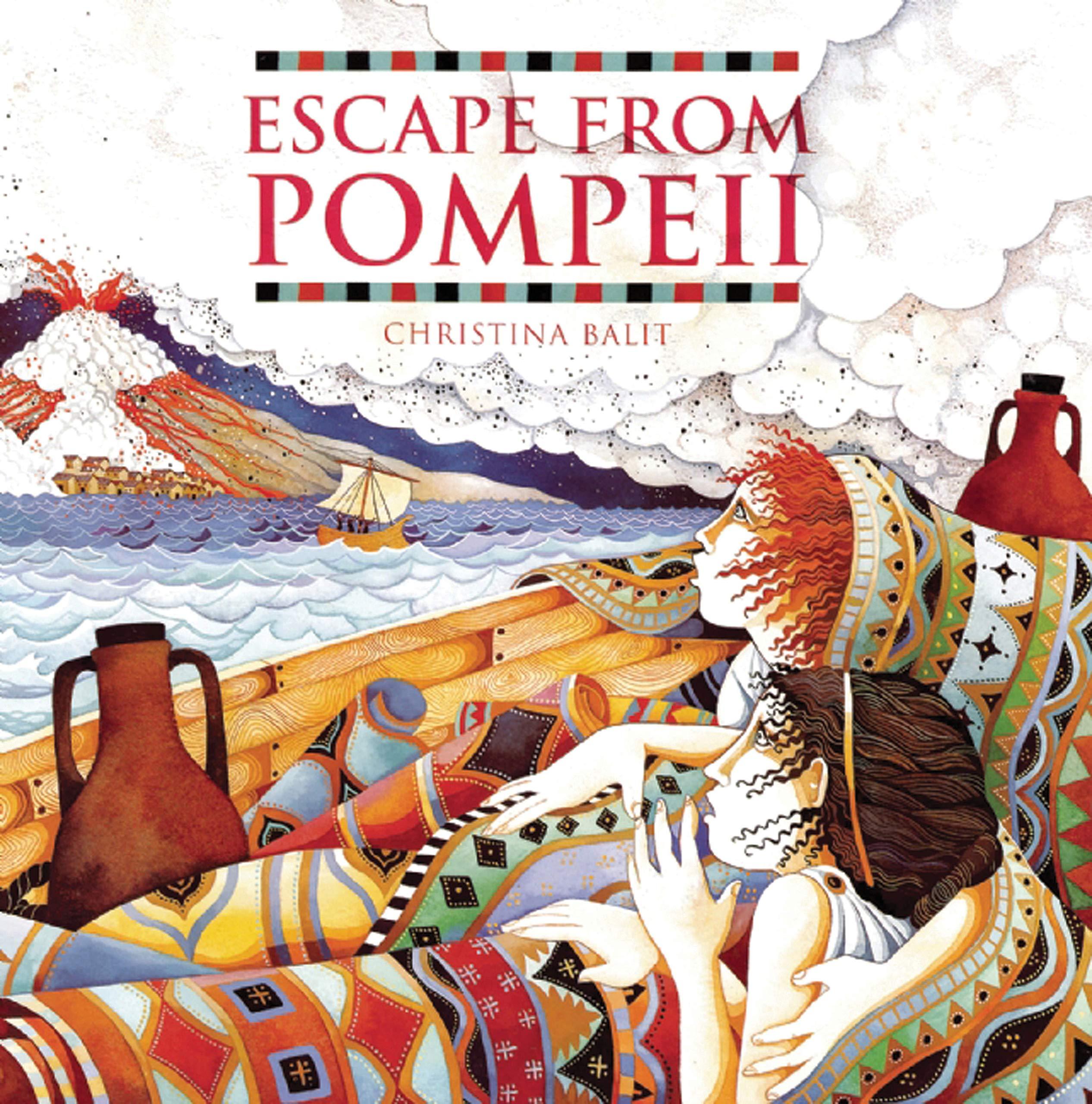 Escape from Pompeii: Amazon.co.uk: Balit, Christina: Books