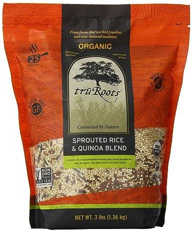 truRoots bolsa de mezcla de arroz brotado y quínoa ...