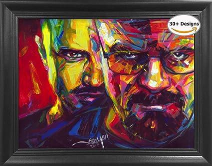Amazon.com: Breaking Bad Heisenberg Framed 3D Lenticular Picture ...