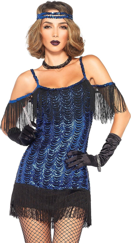 Leg Avenue- Mujer, Color negro y azul, Small (EUR34-36) (84252) , color/modelo surtido